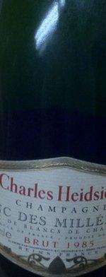 Sparkling wine, Blanc des Millénaires 1985