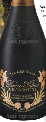 Sparkling wine, Cuvée Spéciale Les Chétillons Le Mesnil 2000