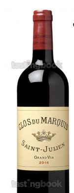 Red wine, Clos du Marquis 2016