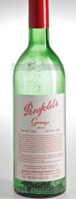 Red wine, Grange Hermitage 1982