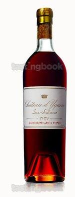 Sweet wine, d'Yquem 1929
