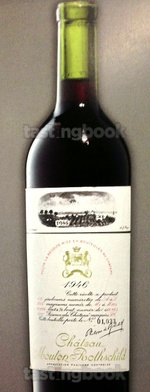 Red wine, Château Mouton-Rothschild 1946