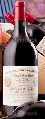 Red wine, Cheval Blanc 1998