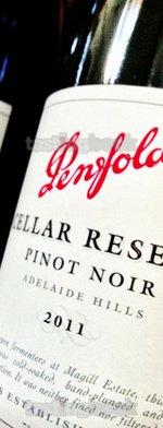 Red wine, Cellar Reserve Pinot Noir 2011
