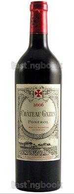 Red wine, Château Gazin 2006