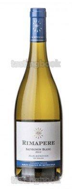 White wine, Rimapere Sauvignon Blanc 2016
