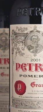 Red wine, Pétrus 2001