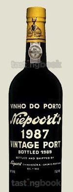 Sweet wine, Niepoort Vintage  1987