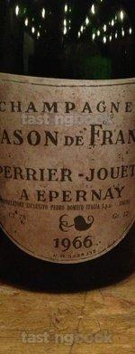 Sparkling wine, Blason de France 1966