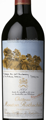 Red wine, Château Mouton-Rothschild 2004
