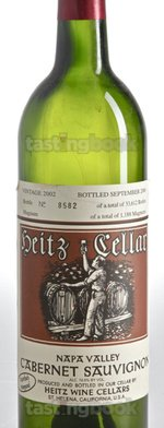 Red wine, Martha's Vineyard Cabernet Sauvignon 2002