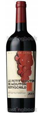 Red wine, Le Petit Mouton 2008