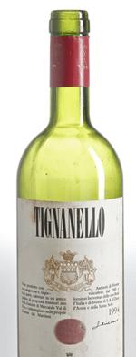 Red wine, Tignanello 1994