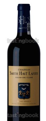 Red wine, Château Smith Haut Lafitte 2011