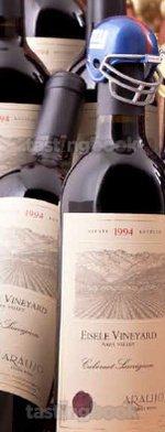 Red wine, Araujo Eisele Vineyard Cabernet Sauvignon 1994