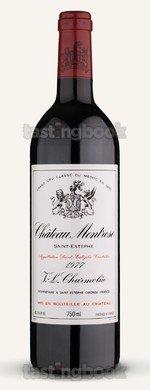 Red wine, Montrose 1977