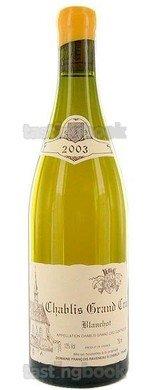 White wine, Chablis Blanchot 2003