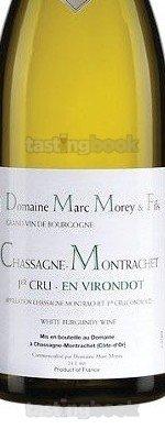 White wine, Chassagne-Montrachet 1er Cru En Virondot 2013