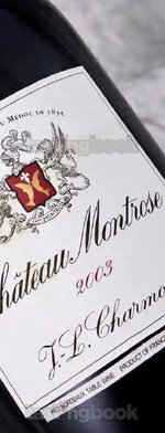 Red wine, Montrose 2003