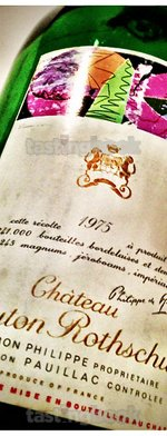 Red wine, Château Mouton-Rothschild 1975