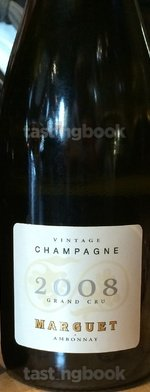 Sparkling wine, Grand Cru Vintage 2008