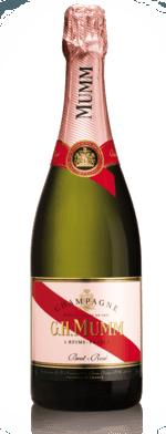 Sparkling wine, Mumm Rosé NV (10's)