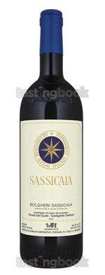 Red wine, Sassicaia 2013