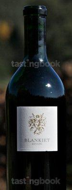 Red wine, Blankiet Estate Proprietary Red 2008