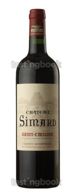 Red wine, Château Simard 2016