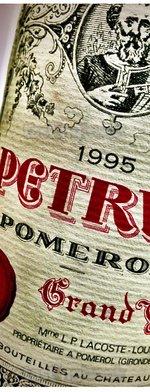 Red wine, Pétrus 1995