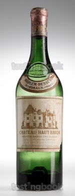 Red wine, Château Haut-Brion 1961