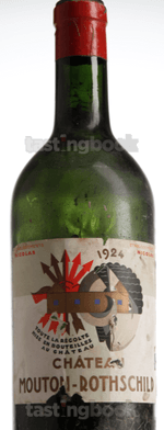 Red wine, Château Mouton-Rothschild 1924