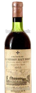 Red wine, La Mission Haut Brion 1955