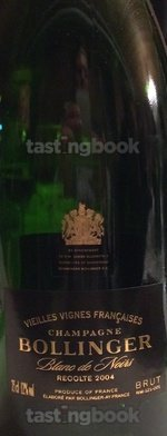 Sparkling wine, Vieilles Vignes Françaises 2004