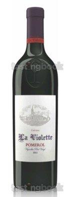 Red wine, Château Violette 2016
