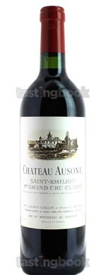 Red wine, Château Ausone 2005