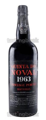 Fortified wine, Nacional Vintage Port 1963
