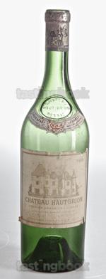 Red wine, Château Haut-Brion 1959