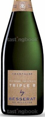 Sparkling wine, Triple B Brut Nature 2013