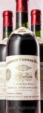 Red wine, Cheval Blanc 1961