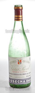 Red wine, Vina Real Gran Reserva 1966