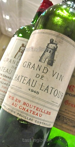 Red wine, Château Latour 1945