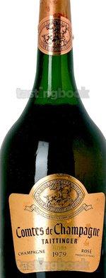 Sparkling wine, Comtes de Champagne Rosé 1979