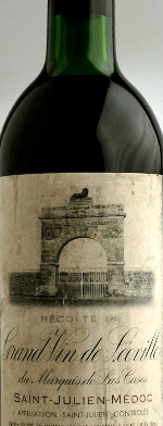 Red wine, Léoville-Las Cases 1961