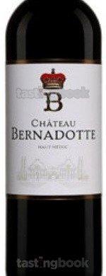 Red wine, Château Bernadotte 2016