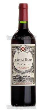 Red wine, Château Gazin 2009
