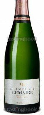 Sparkling wine, Lemaire Brut Rosé Réserve NV (10's)