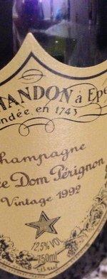 Sparkling wine, Dom Pérignon 1992