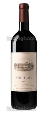Red wine, Ornellaia 1988