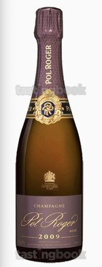 Sparkling wine, Pol Roger vintage rosé 2008